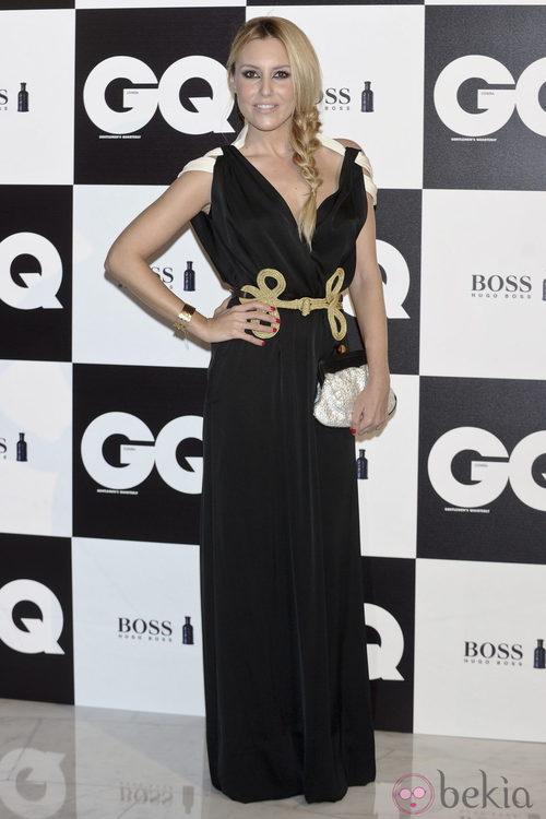 Berta Collado en los premios GQ Hombres del Año 2011