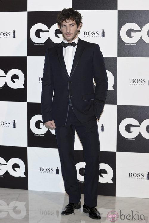 Quim Gutiérrez en los premios GQ Hombres del Año 2011