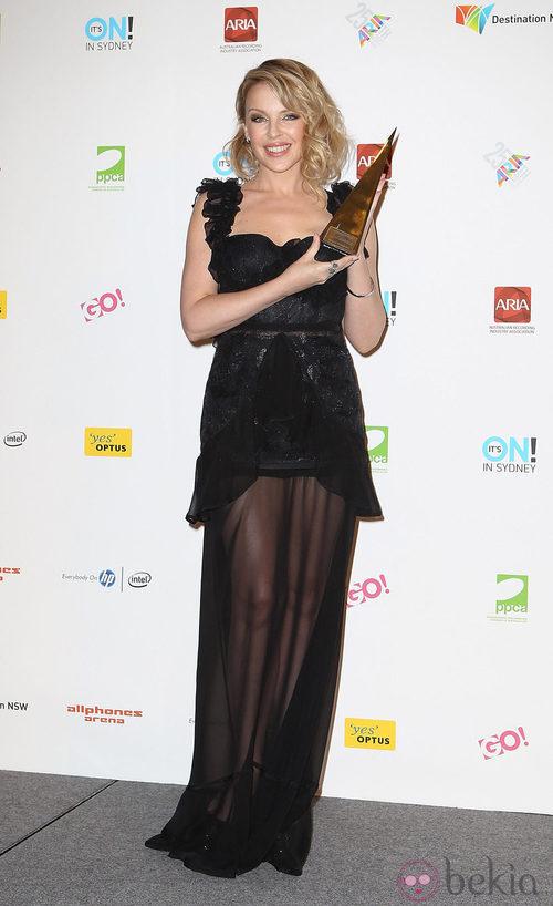 Kylie Minogue en los premios ARIA de Australia