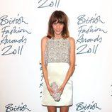 Alexa Chung en los British Fashion Awards 2011