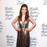 Tali Lennox en los British Fashion Awards 2011