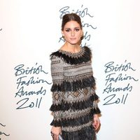 Olivia Palermo en los British Fashion Awards 2011
