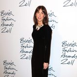 Samantha Cameron en los British Fashion Awards 2011