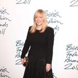 Sarah Burton en los British Fashion Awards 2011