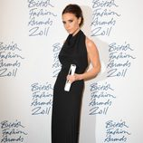 Victoria Beckham en los British Fashion Awards 2011