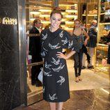 Blanca Suárez con vestido de Miu Miu