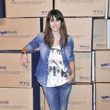 Blanca Suárez con un total jeans look