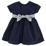 Vestido azul marino con lazo de la colección 'Have Fun' de Chicco