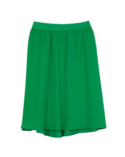 Falda verde de la colección 'Arty Mix' de Trucco