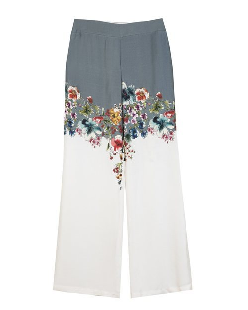 Pantalón bicolor de la colección 'Arty Mix' de Trucco