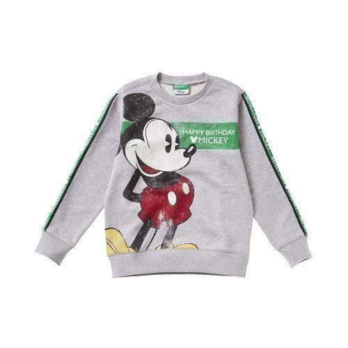 Sudadera de Mickey de la colección otoño/invierno 2018-2019 de Benetton Kids