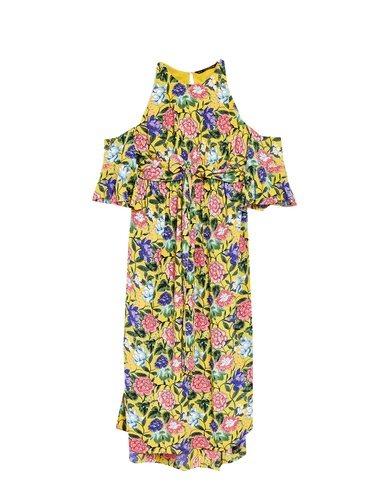 Vestido de hombros descubiertos de la colección primavera/verano 2018 de Sfera