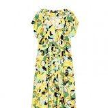 Vestido amarillo de la colección primavera/verano 2018 de Sfera