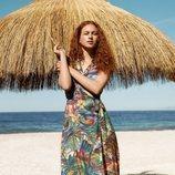 Vestido tropical de la nueva colección de Oysho SS18