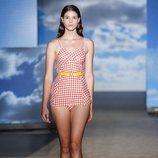 Bañador de inspiración vintage de TCN primavera/verano 2019 en la 080 Barcelona Fashion Week