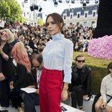 Victoria Beckham en el desfile de Dior en la París Fashion Week 2018
