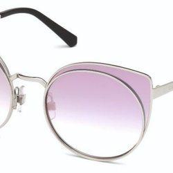 Gafas de sol con cristales morados de la nueva colección AW 18 de Swarovski
