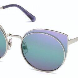 Chiara Ferragni luce gafas de la colección AW18 de la marca Swarovski del grupo Marcolin 2018