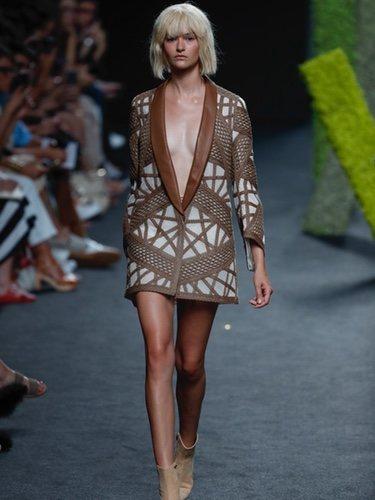 Mini vestido de Teresa Helbig en Madrid Fashion Week primavera/verano 2019
