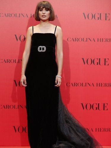 Verónica Echegui con un vestido de Gucci en el 30 aniversario de Vogue