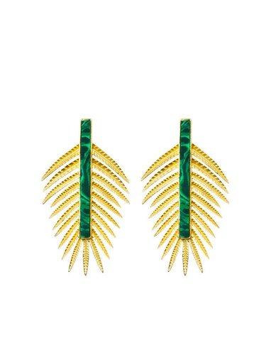 Pendientes Amazona de la firma Tabita Jewels 2018