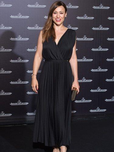 Natalia Verbeke con un vestido de Guess en la presentación de la colección Jaeger Lecoultre de Polaris