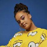 Jersey amarillo de Los Simpson de la nueva colección cáspula de Asos 2018