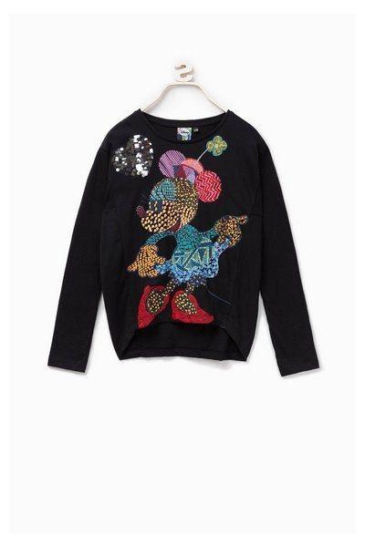Camiseta de Minnie Mouse de la colección otoño/invierno 2018/2019 de Desigual