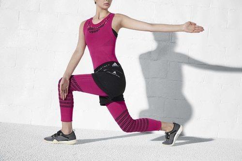 Conjunto rosa oscuro de la colección otoño/invierno 2018/2019 de Adidas