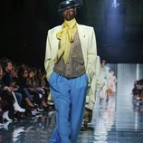 Abrigo masculino de Marc Jacobs primavera 2019 en la New York Fashion Week