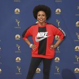 Jenifer Lewis con un chándal de Nike en los Premios Emmy 2018