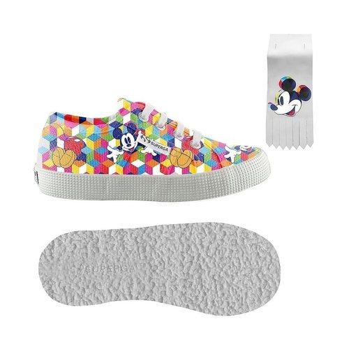 Zapatilla multicolor de la colección 'Superga x Disney'
