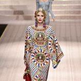 Kitty Spencer en el desfile de Dolce&Gabbana primavera/verano 2019 en la Milán Fashion Week