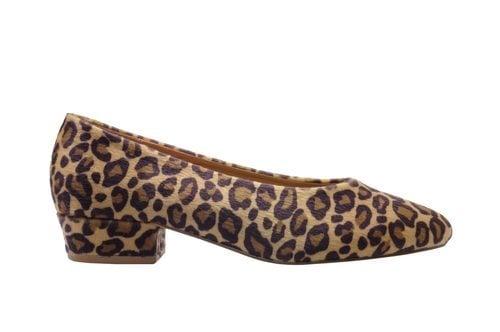 Salón de print de leopardo de la colección otoño/invierno 2018/2019 de Marypaz