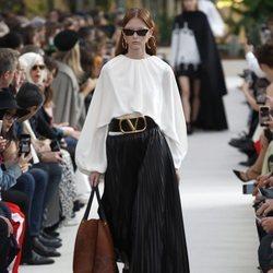 Desfile Valentino de la colección primavera/verano 2019 en Paris Fashion Week