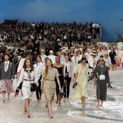 Desfile primavera/verano 2019 de Chanel en la Paris Fashion Week