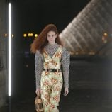 Jumpsuit de flores de Louis Vuitton primavera/verano 2019 en la Paris Fashion Week