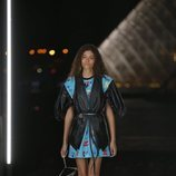 Camisa y chaleco de Louis Vuitton primavera/verano 2019 en la Paris Fashion Week