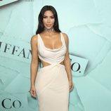 Kim Kardashian despampanante en la gala de Tiffany & Co 2018