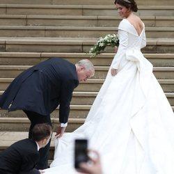 Vestido de novia de la Princesa Eugenia de York 2018