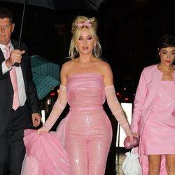 Katy Perry vestida de chicle en la gala FFany