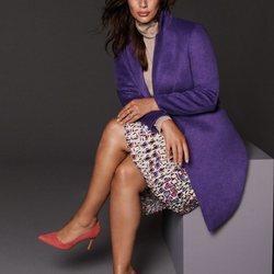 Ashley Graham, nueva imagen de Violeta by Mango