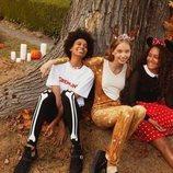 Modelos disfrazadas con diseños de la colección cápsula de Halloween de H&M 2018