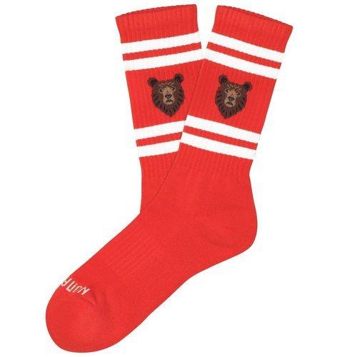 Calcetines rojos de la colección 'Athletics' de Jimmy Lion