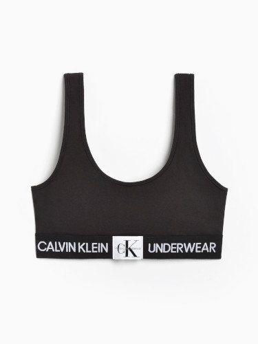 Sujetador negro de la colección 'Monogram' de Calvin Klein Underwears