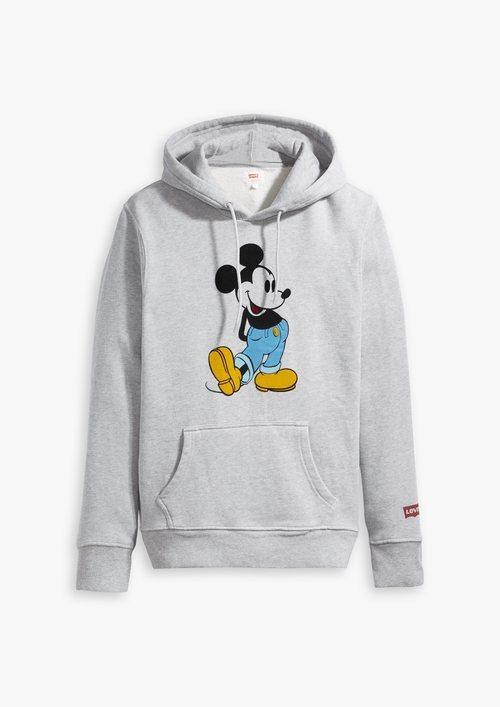 Sudadera gris de la nueva colección Levi's x Mickey Mouse