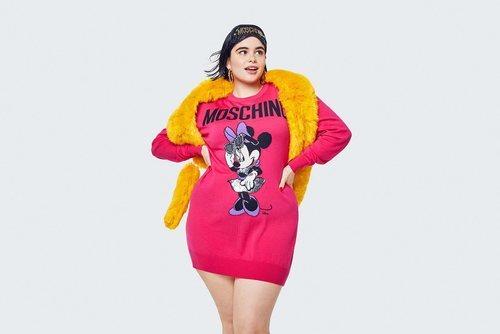 Sudadera rosa de Minnie  de la colección Moschino by H&M