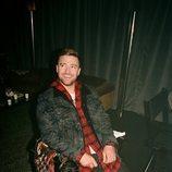 Justin Timberlake con una camiseta a cuadros de su colección en colaboración con Levi's