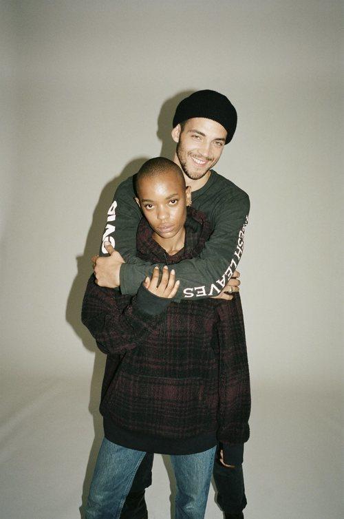 Sudaderas oversize de la colección Fresh Leaves de Levi's x Justin Timberlake