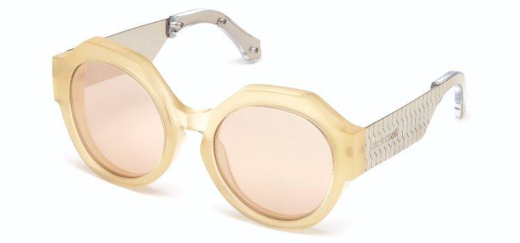 Gafas de sol geométricas de Roberto Cavalli y Marcolin